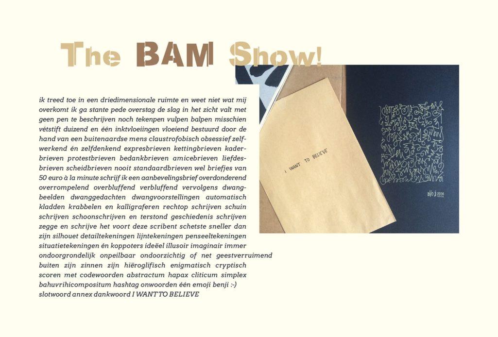 The Bam Show